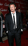 PALM SPRINGS, CA. - January 06: Actor Sean Penn arrives at The 20th Anniversary of the Palm Springs International Film Festival Awards Gala at the Palm Springs Convention Center in on December 6, 2009 in Palm Springs, California.
