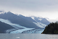 Harvord tidewater glacier in College Fjord, Prince William Sound, Alaska.