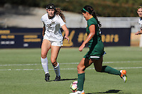 BERKELEY, CA - September 16, 2016: Cal Bears Women's Soccer team vs. the University of San Francisco Dons at Goldman Field. Final score, Cal Bears 4, USF 1