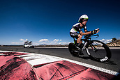 September 5th 2017, Circuito de Navarra, Spain; Cycling, Vuelta a Espana Stage 16, individual time trial; Jacques Janse van Rensburg