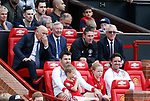 Sir Alex Ferguson back in the managers seat during the Michael Carrick Testimonial match at the Old Trafford Stadium, Manchester. Picture date: June 4th 2017. Picture credit should read: Simon Bellis/Sportimage