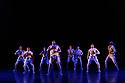 London, UK. 25.09.2019. Boy Blue present REDD, directed by Kenrick 'H20' Sandy, choreographed by Kenrick 'H20' Sandy & Michael 'Mikey J' Asante, in the Barbican Theatre. The dancers are: Kenrick 'H20' Sandy MBE, Nicey Belgrave, Tanaka Bingwa, Mikiel Donovan, Shanelle 'Tali' Fergus, Emma Houston, Ajani Johnson-Goffe, Kayla Lomas Kirton, Kelsey Miller.  Photograph © Jane Hobson.