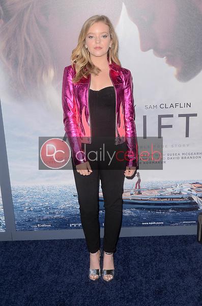 "Jade Pettyjohn<br /> at the ""Adrift"" World Premiere, Regal Cinemas L.A. Live, Los Angeles, CA 05-23-18<br /> David Edwards/DailyCeleb.com 818-249-4998"