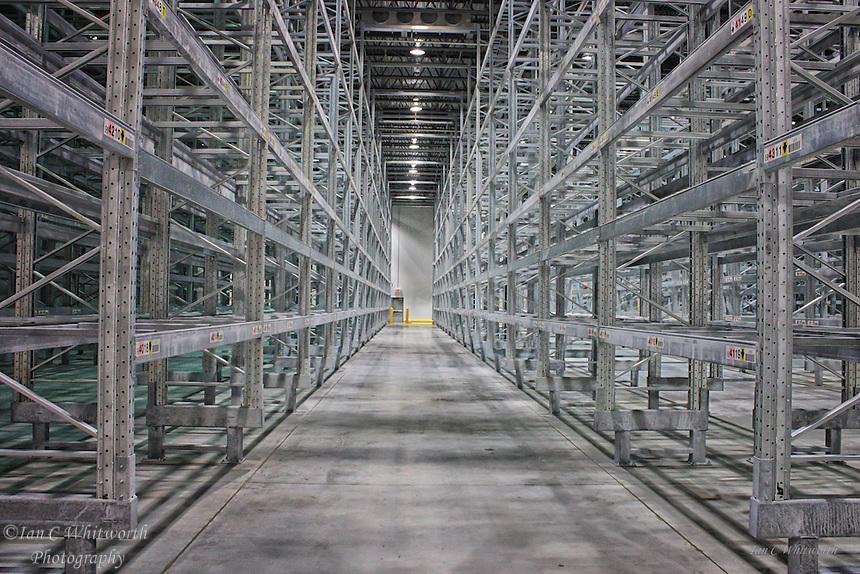 Galvanized warehouse pallet racking