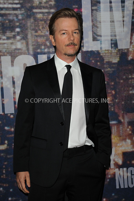 WWW.ACEPIXS.COM<br /> February 15, 2015 New York City<br /> <br /> David Spade walks the red carpet at the SNL 40th Anniversary Special at 30 Rockefeller Plaza on February 15, 2015 in New York City.<br /> <br /> Please byline: Kristin Callahan/AcePictures<br /> <br /> ACEPIXS.COM<br /> <br /> Tel: (646) 769 0430<br /> e-mail: info@acepixs.com<br /> web: http://www.acepixs.com