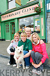 Listowel Garden Festival : Pictured at the launch of Listowel Garden Festival to be held on the August Bank Holiday weekend  on Friday last were Jess, Susan & Lucy Quilter with their mother Toni at back and Millie the dog.