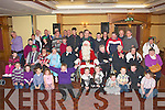 Santa Claus made a special appearance at the Meadowlands hotel,Oakpark,Tralee last Sunday afternoon for the annual Christmas party of Mount Eagle Lodge where everyone received loads of Christmas gifts..