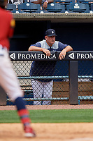 Toledo Mud Hens Joe DePastino during an International League game against the Durham Bulls on July 16, 2019 at Fifth Third Field in Toledo, Ohio.  Durham defeated Toledo 7-1.  (Mike Janes/Four Seam Images)