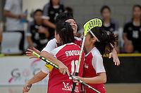 World Floorball Championships 2017 Qualification for Asia Oceania Region - Singapore v Thailand at ASB Sports Centre , Wellington, New Zealand on Sunday 5 February 2017.<br /> Photo by Masanori Udagawa<br /> www.photowellington.photoshelter.com.
