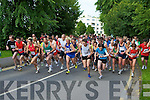 The runners head off at the Killarney Summerfest 5Km fun run on Saturday evening