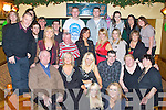 KEY TO THE DOOR: Sarah Lynch, Gallows Field, Tralee (seated centre) enjoying a great time celebrating her 21st birthday with family and friends at the Meadowlands hotel, Tralee on Saturday.