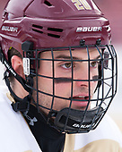 Mike Merulla (BC - 20) - The Boston College Eagles practiced on the rink at Fenway Park on Friday, January 6, 2017.