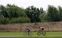 06 AUG 2005 - HOLME PIERREPONT, UK - British Triathlon Club Relay Championships. (PHOTO (C) NIGEL FARROW)