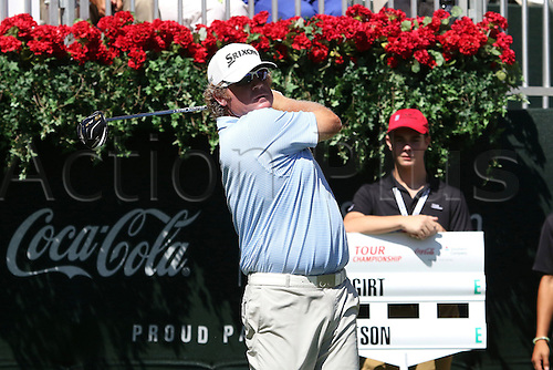 22.09.2016. Atlanta, Georgia, USA.  William McGirt at the opening round of the 2016 PGA Tour Championship at East Lake Golf Club in Atlanta, Georgia.