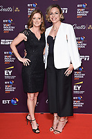 Helen and Kate Richardson Walsh<br /> at the BT Sport Industry Awards 2017 at Battersea Evolution, London. <br /> <br /> <br /> ©Ash Knotek  D3259  27/04/2017