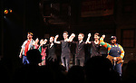 """The cast  taking bows after the 'Avenue Q"""" 13th Anniversary and 3,QQQ Performance with Bar Mitzvah at the New World Stages on January 12, 2017 in New York City."""