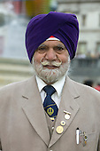 Vaisakhi Mela - Sikh New Year Celebrations in London. Distinguished Gentleman with Turban