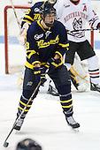 Kyle Bigos (Merrimack - 3) - The visiting Merrimack College Warriors defeated the Northeastern University Huskies 4-3 (OT) on Friday, February 4, 2011, at Matthews Arena in Boston, Massachusetts.