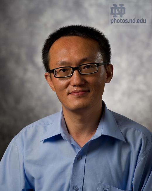 Franklin Tao..Photo by Matt Cashore/University of Notre Dame