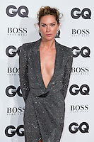Aly Hazlewood arrives for the GQ Men Of The Year Awards 2016 at the Tate Modern, London