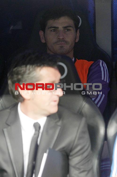 Real Madrid's Iker Casillas during La Liga match.August 18,2013. Foto © nph / Acero)
