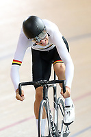 Kiaan Watts of Waikato BOP compete in the U17 Boys 750m Team Sprint final at the Age Group Track National Championships, Avantidrome, Home of Cycling, Cambridge, New Zealand, Sunday, March 19, 2017. Mandatory Credit: © Dianne Manson/CyclingNZ  **NO ARCHIVING**