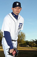 Feb 21, 2009; Lakeland, FL, USA; The Detroit Tigers pitcher Clay Rapada (50) during photoday at Tigertown. Mandatory Credit: Tomasso De Rosa/ Four Seam Images