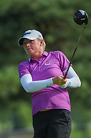Stacy Lewis (USA) watches her tee shot on 5 during round 4 of the 2018 KPMG Women's PGA Championship, Kemper Lakes Golf Club, at Kildeer, Illinois, USA. 7/1/2018.<br /> Picture: Golffile | Ken Murray<br /> <br /> All photo usage must carry mandatory copyright credit (&copy; Golffile | Ken Murray)