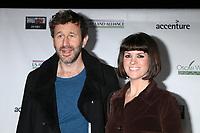 LOS ANGELES - FEB 21:  Chris O'Dowd, Dawn O'Porter at the 2019 Oscar Wilde Awards at the Bad Robot on February 21, 2019 in Santa Monica, CA