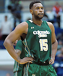 January 20, 2016 - Colorado Springs, Colorado, U.S. -  Colorado State forward, Tie Daniels #15, during an NCAA basketball game between the Colorado State University Rams and the Air Force Academy Falcons at Clune Arena, United States Air Force Academy, Colorado Springs, Colorado.  Colorado State defeats Air Force 83-79.