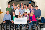 "The Kerry Fox Hunt Club ""Ride the Ring of Kerry for cancer easter weekend"" presentation of a cheque took place in the Torc Hotel, Killarney last Saturday night. All the none raised (€24672) will be split three ways: Kerry Cork Link Bus, Breakthrough Cancer Research and Palative Care Unit."