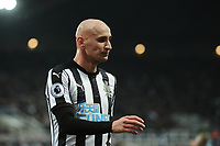 Jonjo Shelvey of Newcastle United during Newcastle United vs Swansea City, Premier League Football at St. James' Park on 13th January 2018