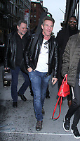 November 30, 2018 Jamie James,  Dennis Quaid at Build Series to talk about how Harry Dean Stanton was a Mentor for his band The Sharks in New York. November 30, 2018  <br /> CAP/MPI/RW<br /> &copy;RW/MPI/Capital Pictures