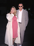 Natasha Richardson &amp; husband Liam Neeson<br /> attending the Buffet in Honor of Almeida Theatre at Osteria Del Circo Restaurant in New York City.<br /> 4/28/1996