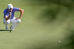 Sam Brazel of Australia putts on the green during the 58th UBS Hong Kong Golf Open as part of the European Tour on 11 December 2016, at the Hong Kong Golf Club, Fanling, Hong Kong, China. Photo by Marcio Rodrigo Machado / Power Sport Images