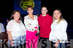 Helen O'Halloran, Sheila Cremins, Deirdre Cremins and Rebecca O Halloran at the Austin Stacks Strictly Come Dancing on Saturday night