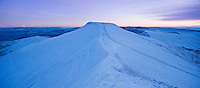 Pen Y Fan winter dawn, Brecon Beacons national park, Wales