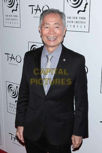 NEW YORK, NY - JANUARY 4:   George Takei at the New York Film Critics Circle Awards at TAO Downtown in New York City on January 4, 2016. <br /> CAP/MPI99<br /> &copy;MPI99/Capital Pictures