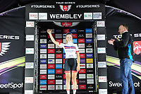 Picture by Simon Wilkinson/SWpix.com - 16/05/2017 - Cycling - Tour Series Round 4, Wembley - Matrix Fitness Grand Prix - Ellie Dickinson mainrtains the overall lead of the Matrix Fitness competition.