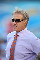 10/15/12 San Diego, CA: Denver Broncos Hall of Famer  John Elway before an NFL game played between the San Diego Chargers and the Denver Broncos at Qualcomm Stadium. The Broncos defeated the Chargers 35-24.