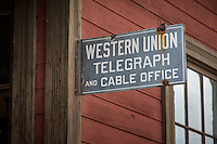 The C&amp;N Depot, Express Agency, and Telegraph Office was relocated from Gettysburg, SD. It is filled with railroad equipment right down to a piece of wood with &ldquo;Tex K.T.&rdquo; carved by the king tramp in 1927.<br /> <br /> 1880 TOWN in South Dakota is located 22 west of Murdo,  and has more than 30 buildings from the 1880 to 1920 era, authentically furnished with thousands of relics, historical accounts and photographs.  This is also the Longhorn Ranch and home to more than 100 Texas longhorn cattle.