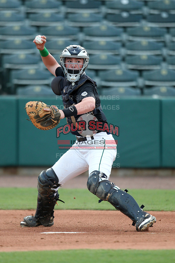 Michael Barash during the Team One Futures Showcase East at Roger Dean Stadium on October 1, 2011 in Jupiter, Florida.  (Mike Janes/Four Seam Images)