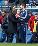 Pedro Caixinha and Martin Canning