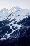 Pix: Shaun Flannery/shaunflanneryphotography.com<br /> <br /> COPYRIGHT PICTURE>>SHAUN FLANNERY>01302-570814>>07778315553>><br /> <br /> December 2018<br /> Alpine View<br /> French Alps<br /> Villaroger, Les Arcs, Aguille Rouge, Mont Pourri, Vanoise National Park