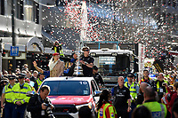 Team New Zealand Americas Cup Wellington Welcome Home Parade, Wellington, New Zealand on Tuesday 11 July 2017.<br /> Photo by Masanori Udagawa<br /> www.photowellington.photoshelter.com.