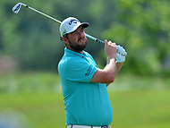 Potomac, MD - June 29, 2017: Marc Leishman follows his shot to the 15th green during Round 1 of professional play at the Quicken Loans National Tournament at TPC Potomac at Avenel Farm in Potomac, MD, June 29, 2017.  (Photo by Don Baxter/Media Images International)