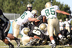 Palos Verdes, CA 10/30/09 - Mitch Olsen (#63) in action during the Mira Costa Mustang vs Peninsula Panthers football game played at Peninsula High School.
