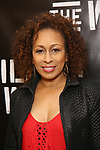 Tamara Tunie attends the press photo call for 'Building The Wall' Ripley-Grier on May 5, 2017 in New York City.