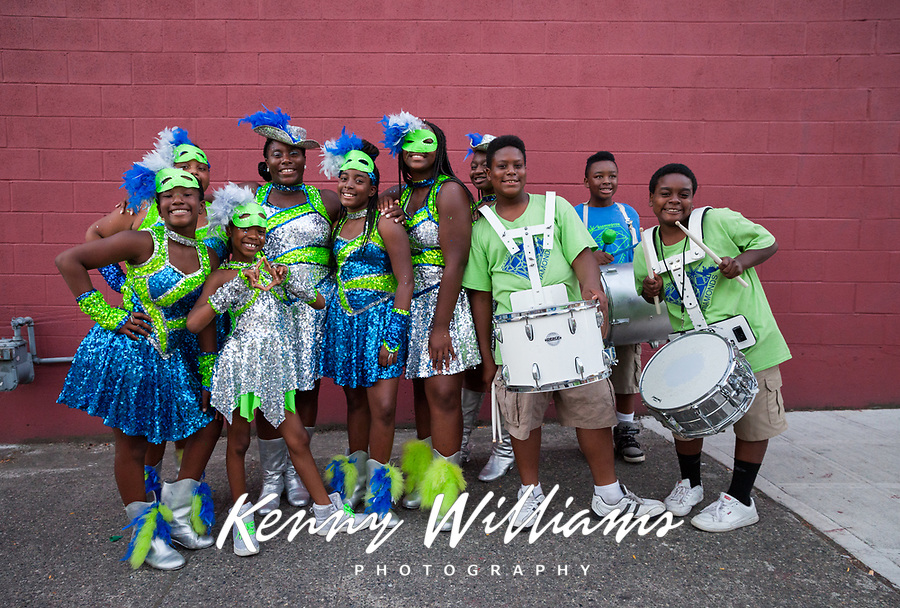 Washington Diamonds Drill Team, Seafair Torchlight Parade, Seattle, WA, USA.