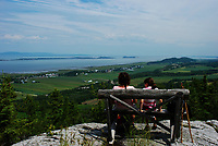 Saint-Andre-de-kamouraska<br /> , Saint-Lawrence river  <br /> <br /> PHOTO  : Guy Sabourin<br />  - Agence Quebec Presse